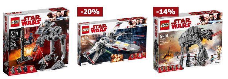 Karstadt mit 20€ Rabatt auf alles (ab 100€ MBW)   z.B. Lego Star Wars 75189 First Order Heavy Assault Walker ab 99,99€ (statt 119€)