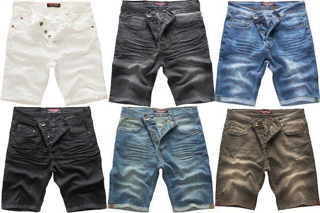 Rock Creek Denim Herren Jeans Shorts für je 24,90€