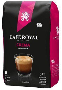1kg Cafe Royal Crema Kaffeebohnen für 8€ (statt 15€)