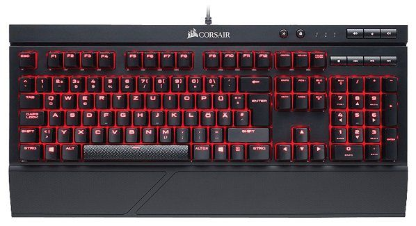 Corsair K68 mechanische Gaming Tastatur (MX Red Switches) für 75€ (statt 109€)
