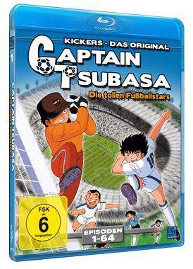 Captain Tsubasa   Die tollen Fußballstars (Episoden 1 64 als Blu ray) für 15€ (statt 24€)