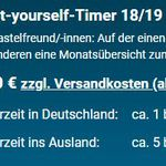 Do-it-yourself-Timer 18/19 (DIN-A1) kostenlos anfordern
