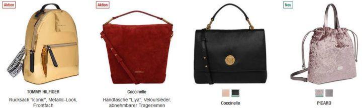 Galeria Kaufhof Dienstag Angebote: heute 20% Rabatt auf Damentaschen