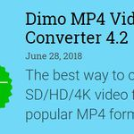 Dimo MP4 Video Converter 4.2 (Vollversion, Windows) kostenlos