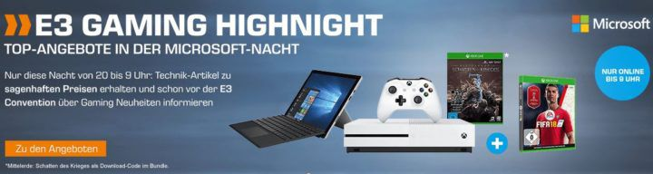 Saturn E3 Gaming Highnight: z.B. GTA V für XBox One nur 22€ (statt 31€)