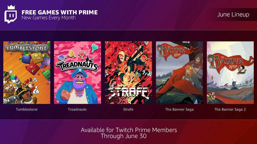 The Banner Saga 1+2, Treadnauts uvm. gratis – nur für (Twitch) Prime Mitglieder