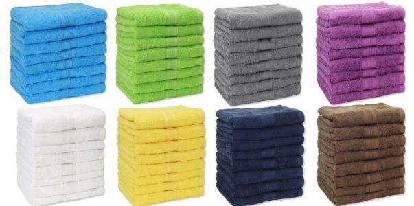 Naturemark 8er Pack Frottee Handtücher für 25,95€