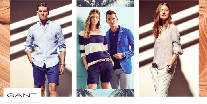 Gant Damen und Herren Fashion Sale mit bis zu 70% Rabatt