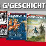 4 Ausgaben G/Geschichte nur für 4€ Versandkosten   Kündigung notwendig