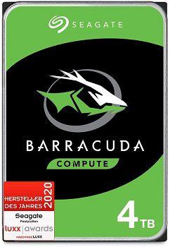 Seagate BarraCuda 4TB   interne Festplatte (3.5 Zoll) 256MB Cache für 75€ (statt 90€)