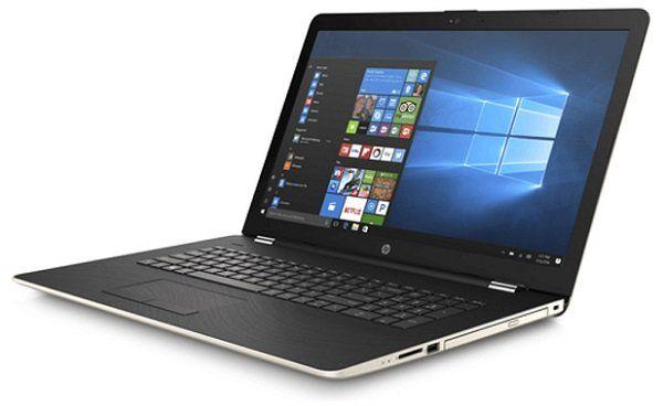 HP 17 bs130ng Notebook mit 17.3 Zoll, i5, 12GB RAM, 1TB HDD, Gold/Silber für 649€ (statt 799€)