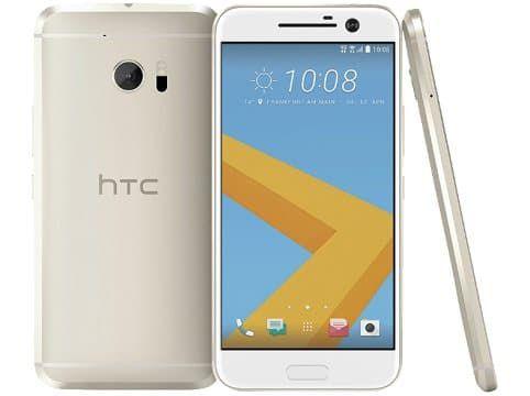 HTC 10   5,2 Zoll Smartphone mit 2,2 GHz und 32 GB Speicher in Gold und Grau für 249€ (statt 329€)