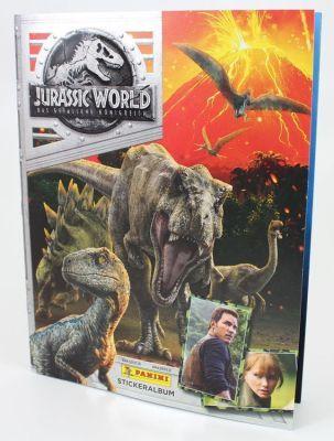 Jurassic World Panini Sammelalbum inkl. 6 Sticker gratis