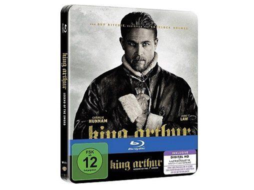 King Arthur: Legend of the Sword als Steelbook Blu ray für 9€ (statt 12€)