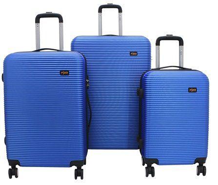 F23 Hartschalen Trolley Set mit 4 Rollen, verschiedene Farben für 64,90€ (statt 153€)