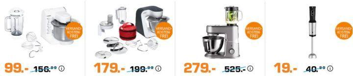 Saturn Late Night Küchenmaschinen Sale: z.B.  GASTROBACK BBQ PRO Kontaktgrill für 111€ (statt 161€)