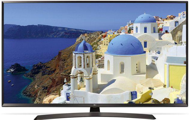 LG 49UJ634V   49 Zoll UHD Smart TV mit triple Tuner und PVR, HDR für 399€