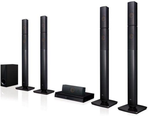 Top! LG LHB 655N   5.1 Heimkinosystem mit 3D Blu ray Player für 199€ (statt 295€)