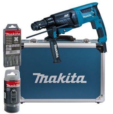Makita HR2631FT13 Kombihammer für SDS Plus im Alukoffer + Zubehör ab 162€ (statt 197€)