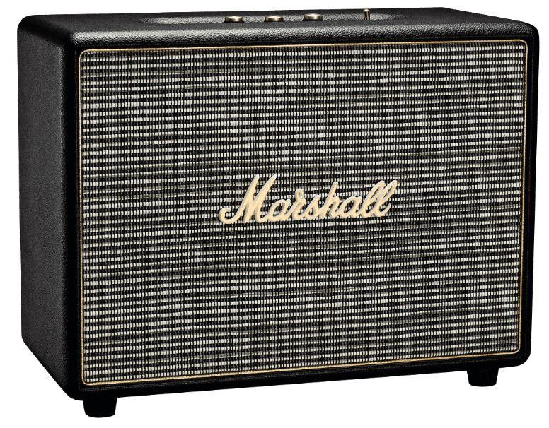 Marshall Woburn   schwarzer Aktiver Lautsprecher mit Bluetooth 4.0 für 269€ (statt 316€)