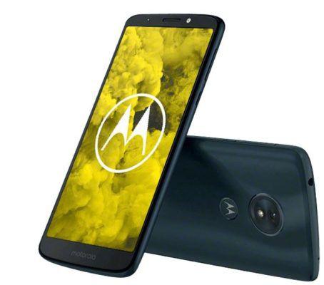 MOTOROLA Moto G6 play   32 GB Dual SIM Smartphone für für 139€ (statt 185€) + gratis Adidas Fußball