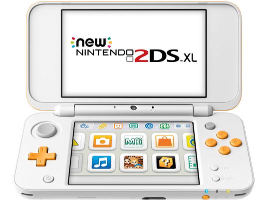 New Nintendo 2DS XL Weiß/Orange für 111€ (statt 130€)