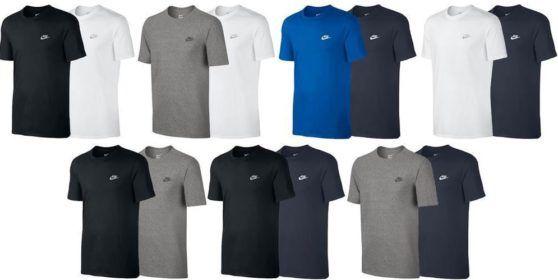 Nike Futura Classic Retro Herren T Shirt Doppelpack für 32,99€
