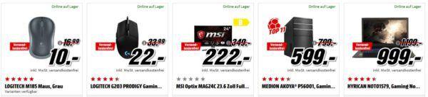 MSI Optix MAG24C Gaming Monitor für 222€ (statt 283€) uvm. im Media Markt Dienstag Sale