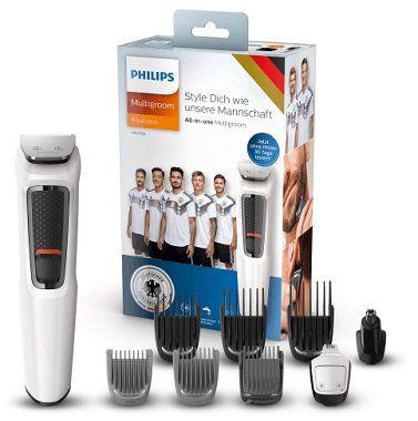 Philips MG3758/15 WM Special Edition  Bart  und Haarschneider mit 9 Aufsätzen für 29,99€ (statt 38€)