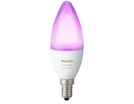 PHILIPS PL69516 Hue mehrfarbige E14 LED Kerze für 39€ (statt 43€)