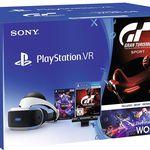PlayStation VR + Camera + Gran Turismo Sport + VR Worlds  für 249€ (statt 285€)