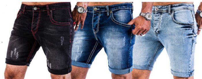 Rock Creek Denim Herren Jeans Shorts für je 22,90€
