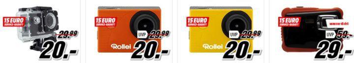 Media Markt Marken Sparen: günstige Artikel von  Canon, Huawei, Rollei und Samsung
