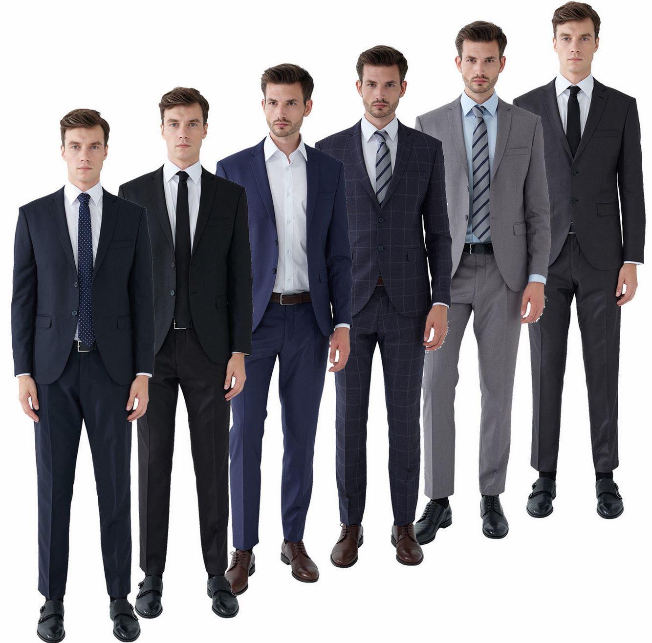 Steffen Klein Herren Designer Anzug Slimfit für 99,95€