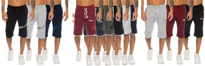 SHIKOBA Herren Shorts bis 3XL für je 12,90€