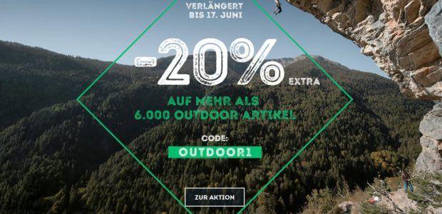 SportScheck Outdoor Pre Sale   20% Extra auf ausgewählte Artikel bis Mitternacht