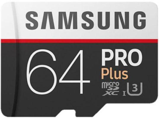 Samsung Pro Plus   microSDXC Speicherkarte mit 64 GB für 25€ (statt 35€)