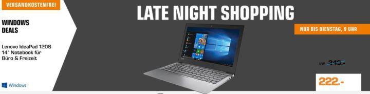 Saturn Late Night: günstige Notebooks z.B. ASUS GL702VS   17.3 Gaming Notebook i7 für 1.499€