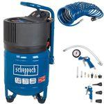 Scheppach HC24V Druckluft Kompressor mit 24L mit Zubehör für 107,10€ (statt 138€)