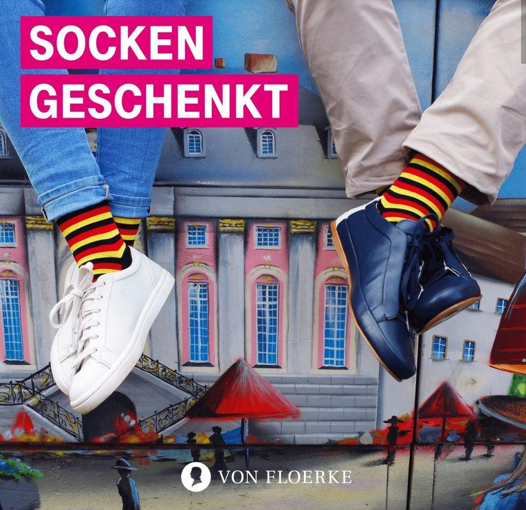 Nur für Telekom Kunden: Socken im Deutschland Design gratis