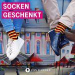 Nur für Telekom Kunden: Socken im Deutschland-Design gratis