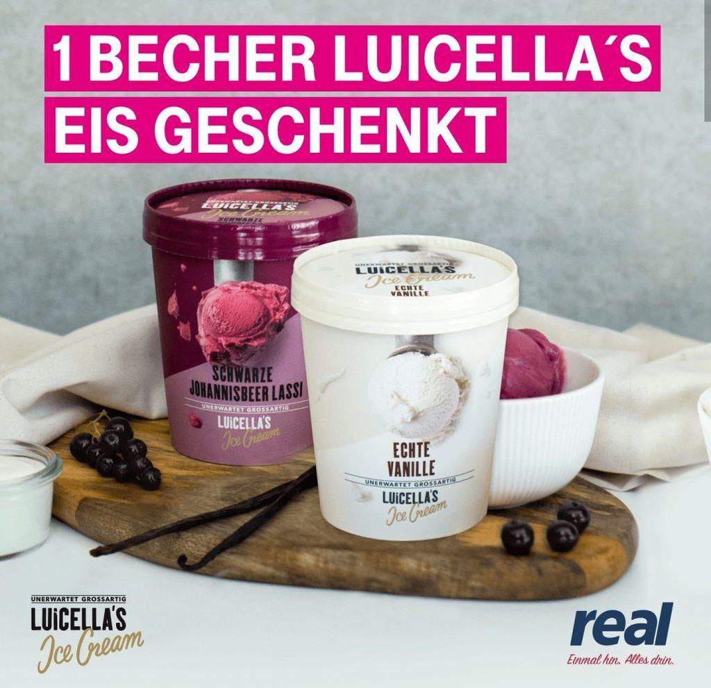 Nur für Telekom Kunden: 1 Becher (500ml) Luicellas Eis gratis