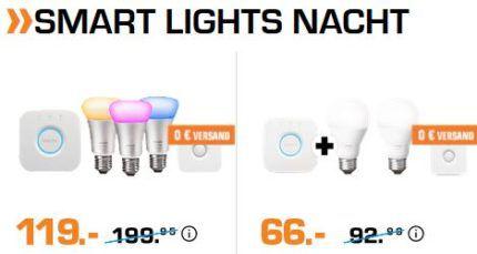 Saturn Late Night Shopping mit günstigen Smart Lights & Wearables