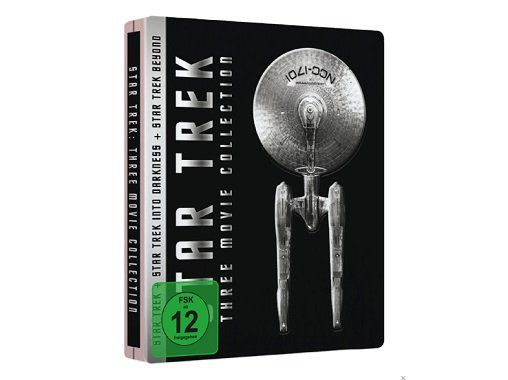 Star Trek Three Movie Collection   Steelbook für 15€ (statt 28€)