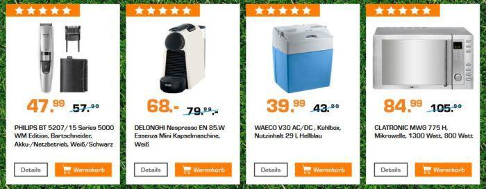 Saturn Startelf Sale: z.B. WAECO V30 AC/DC Kühlbox für 39,99€ (statt 50€)