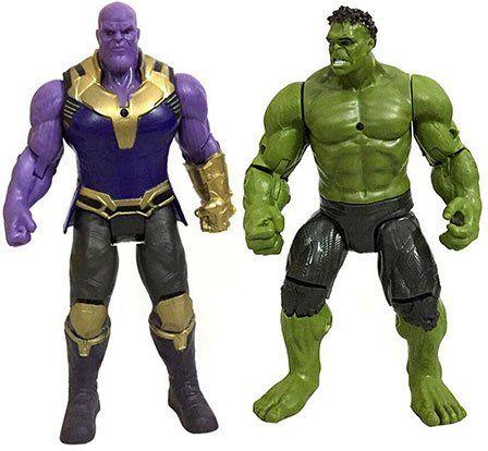 Marvel Figuren Hulk & Thanos für je 3,83€