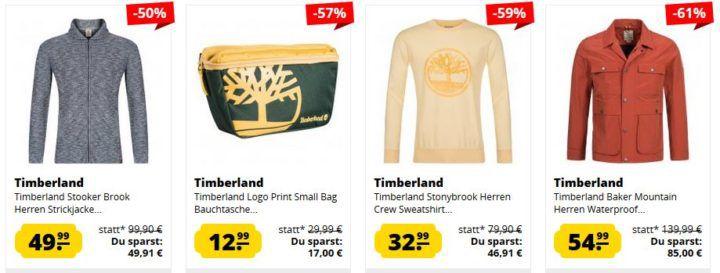 Timberland Sale mit bis 88% Rabatt: z.B. Mount Franklin Herren Jacke ab 39,99€