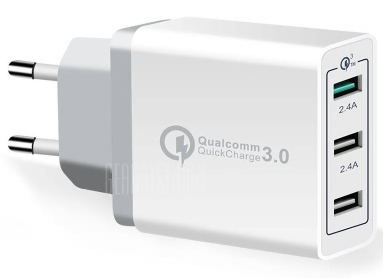 Spedcrd 3 Ports Quick Charger QC 3.0 für 3,22€