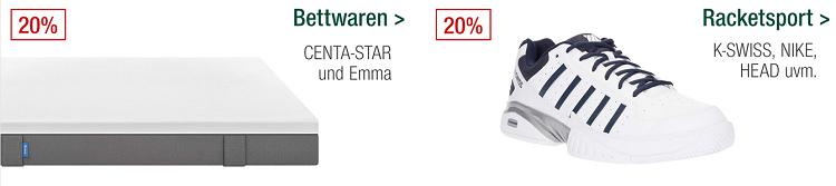 Galeria Kaufhof Sonntagsangebote   z.B. 20% auf Sportbekleidung, Uhren, Le Creuset uvam.