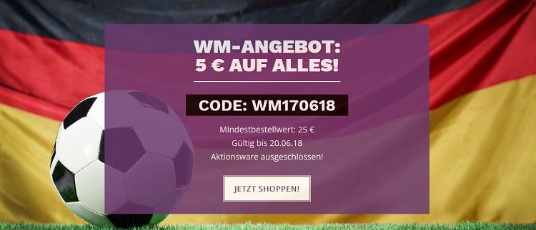 MyBodywear: 5€ WM Rabatt auf fast alles ab 25€ MBW